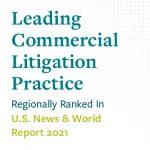 Leading Commercial Litigation Practice