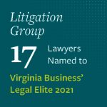 17 Litigation Lawyers named to Best Lawyers in America