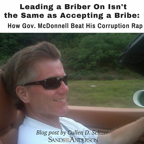 How Governor McDonnell Beat His Corruption Rap